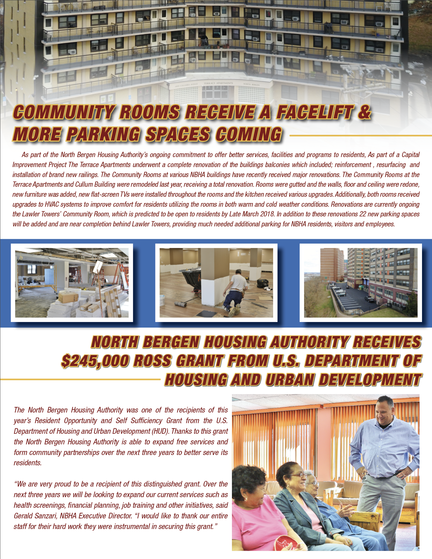 North Bergen Housing Authority – comfortable,affordable